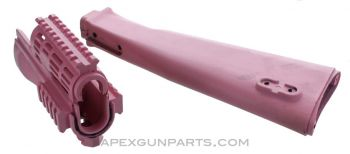 AK Stock Set with No Parts Fitted, PINK, US Made, *NEW*, Sold *As Is*