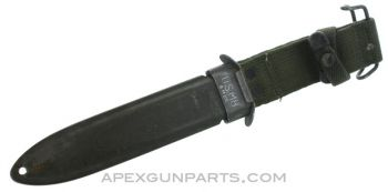 US M8 Scabbard, WWII Issue, *Good*
