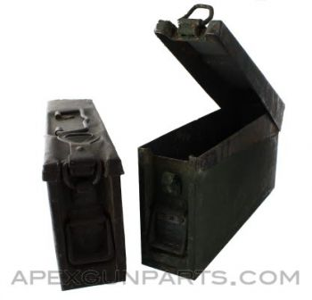 Yugoslavian Ammo Can, 8mm, *Fair to Good*, Sold *As Is*