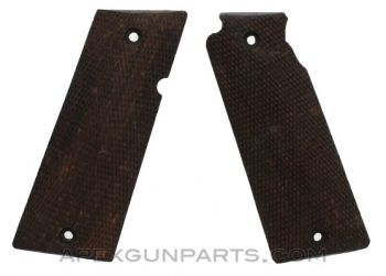 STAR Model B Grip Panel Set, Wood, Late, *Very Good*