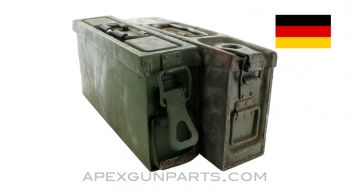 German MG Ammo Can, WWII, *Poor*, Sold *As Is*