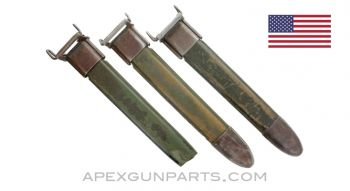 3 Pack of VETERAN M7 Bayonet Scabbards for 10 Inch Blades, *Fair*, Sold *As Is*