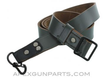 Romanian AK-47 Leather Sling, Gray, *Excellent*