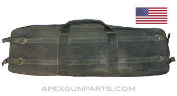 USGI Barrel Case, M240, Eagle Industries, Black, *Fair*, Sold *As Is*