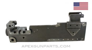 Browning 1919 Left Hand Side Plate (LHSP) w/Trunnion, Pawl Bracket & Rear Sight Base, 30-06 *Good*