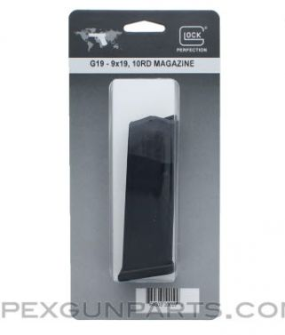 Glock 19 Magazine, 10rd, 9mm, Factory Packaging, *NEW*