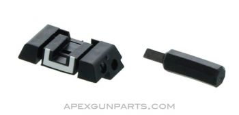 Glock Adjustable Rear Sight with Mini Screwdriver, *NEW*