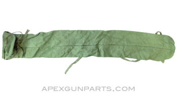 """T-69 RPG-7 Cleaning Rod Case, 27"""", OD Green Canvas *Very Good*"""