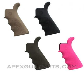 AR-15 / M16 Hogue Pistol Grip w/Beaver Tail & Finger Grooves, *NEW*