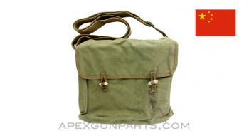 Chinese Type 56 (SKS) Accessory Pouch, OD Green Canvas, *Very Good*
