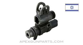 Israeli FAL Front Sight Block Assembly, Early Style, *Good*
