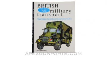 World War II British Military Transport, 1994 Ryton Publications *Excellent*