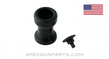 FAL Charging Handle Knob and Rivet, Plastic, DS Arms, *NEW*