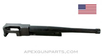 "Thompson M1A1 Barrel Assembly, 10"", .45 ACP, with Receiver Section, Ringed Bore, Sold *As Is*"