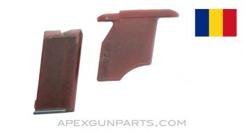 Romanian M1968 .22 Magazine, 5rd, With Magwell, Polymer, *Good*