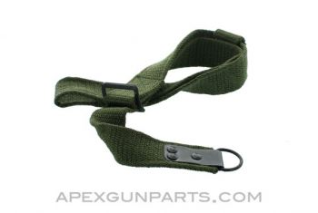 Romanian Nylon AK Sling w/Hook, Green, *NEW*