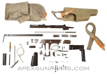 Polish PM md. 63 RAK Pistol Parts Kit, 9x18 Makarov, Matching w/Extras, *Very Good*