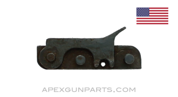 Browning M2 .50 Cal. Backplate Latch Lock, With Filler, *Good*