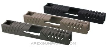 TacticSkin® Snap-on Skin for Glock® 19, 23, 25, 32 and 38 Slides, *NEW*