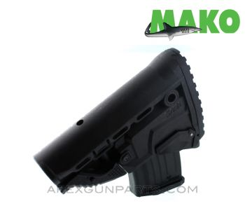 MAKO AK Collapsable Buttstock w/ Magazine Compartment and FREE 10RD MAGAZINE, Polymer, *NEW*