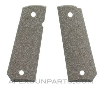 Ergo XTR 1911 Grip Panels, Tapered & Textured Hard Rubber, Flat Dark Earth, *NEW*