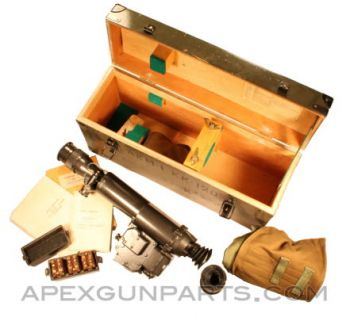 Night Vision NSP-3 Scope w/ Wooden Transit Case & Acc., *Very Good*, Sold *As Is*