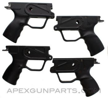 4 Pack HK33 Polymer Trigger/Grip Housings, Stripped