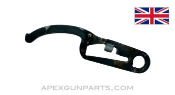 Lewis Gun Feed Arm With Latch, Stripped, Blued, .303 BR. *Good*