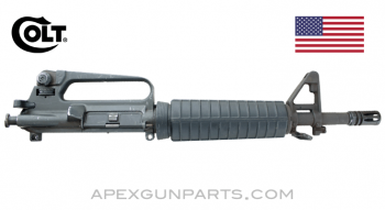 "Colt Model 733 M16A2 Commando Upper Assembly, 11.5"" Heavy Barrel, F/A 1/9, 5.56X45 NATO, *Very Good*"