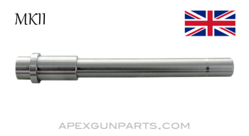"""Sten Mk 2 Barrel, 1x10, 7.8"""" Long, 4140 CM, 9mm Luger, In the White, US Made, *NEW*"""