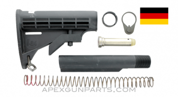 H&K HK416D Buttstock, Buffer & Receiver Extension Assembly, Complete, *Very Good*