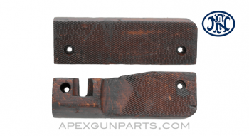 FND (BAR) Handguard Set, Wood, *Good*