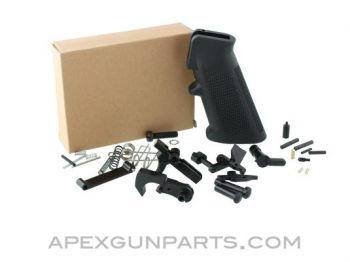 AR-15 Lower Parts Kit (LPK) with A2 Grip, Blued, *NEW*