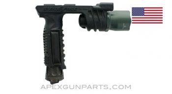Surefire M900A Vertical Grip Light w/Pressure Switch, ARMS Picatinny Mount, *Good*