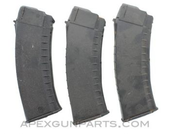 Bulgarian AK-74 30rd Magazine, Polymer, Black, 5.45x39, *Marred & Marked*