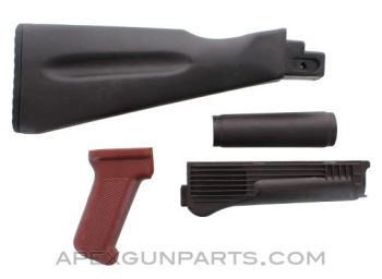 Bulgarian AK-74 Stock Set, Polymer, Plum, *Very Good*