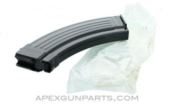 AK-47 Magazine, 30rd, Blued Steel w/Bolt Hold Open, Croatian, 7.62x39, VCI Packaged, *NEW*