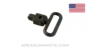 1918 BAR Front Sling Swivel, With Adapter, *Good*