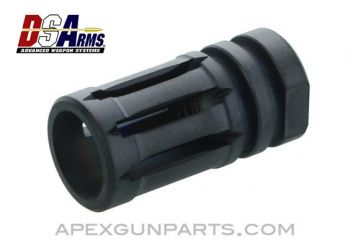 AR-15 A2 Flash Hider, Titanium 1/2x28 Thread, by DS Arms, *NEW*