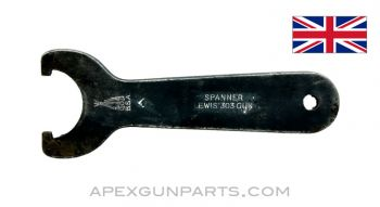 Lewis Gun Spanner Wrench, Early Style, .303 BR. *Good*