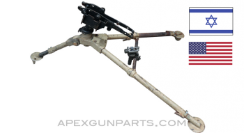 Browning .50 Cal. M3 Tripod Assembly with Cradle, Israeli Issue, Painted, *Good*