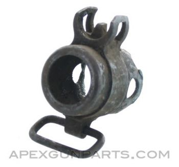 MP34 Front Sight with Front Receiver Piece and Sling Swivel, *Good*