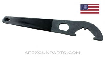 AR-15 M4 Stock Dual Function Wrench, Rubber Coated Handle, *NEW*