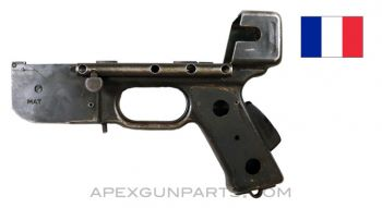 French MAT-49 Project Lower Receiver With Grip Safety, No Trigger Group *Fair*