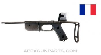 French MAT-49 Project Lower Receiver, Stripped, With Wire Collapsible stock *Fair*