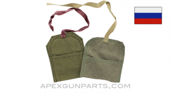 Mosin Nagant Rifle Cloth Pouch, For Cleaning Kit, *Very Good*