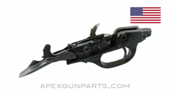 Remington 870 Trigger Plate Assembly, No Safety, Refinished, *Fair*