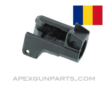 Romanian AKM Front Trunnion, UnMarked, Blued, 7.62x39, *NEW*