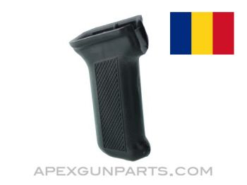 Romanian AKM Polymer Pistol Grip, Black, 7.62x39, *NEW*