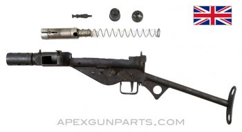 "STEN MK2 SMG Parts Set W/""T"" Stock, 9MM Luger"